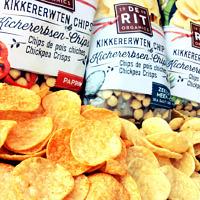 Neu im Sortiment: super leckere Kichererbsen Chips von deRit