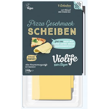 Violife Pizza Flavour Slices, 140g