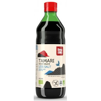 Soja Sauce Tamari 25% Less Salt Organic, 500ml