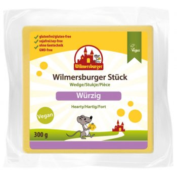 Wilmersburger Wedge Piquant (Hearty) Gluten Free, 300g
