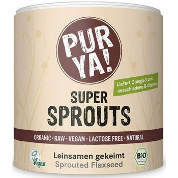 Super Sprouts Flax Seed germed Organic, 200g