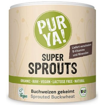 Super Sprouts Buckwheat Seed Raw Food Quality Organic, 220g