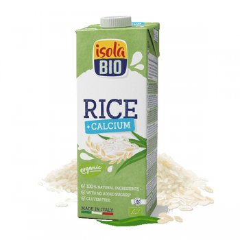 Rice Drink with Calcium Organic, 1l