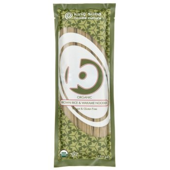 Noodles Brown Rice & Wakame, Organic, 250g