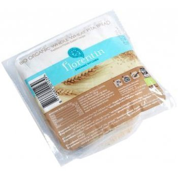 Pita Bread Whole Wheat Organic  (4 pack), 280g