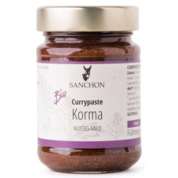 Curry Paste Korma Gluten Free Organic, 190g