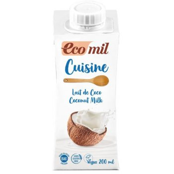 Cuisine Coconut Milk Sugar Free Organic, 200 ml