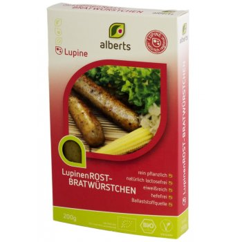 Saucisses de lupin barbecue Bio, 200g