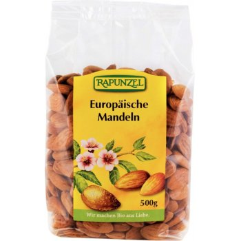 Almonds Unblanched Europe Organic, 500g