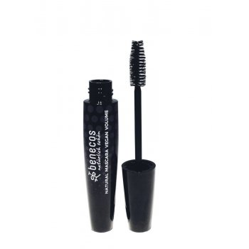 Mascara Natural Vegan Volume magic black, 10ml
