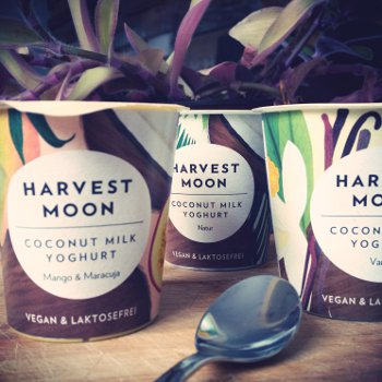 Coconut Milk with Yoghurt Cultures Natural Organic, 125g
