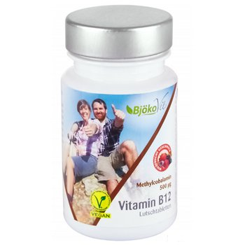 Vitamin B12 Methyl 500 μg Vegan 60 Lutschtabletten