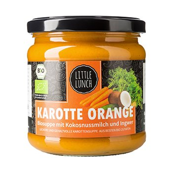 Soup Carrot Orange Organic, 350ml