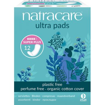 Sanitary Pads Ultra Super Plus Pads, 12 pcs