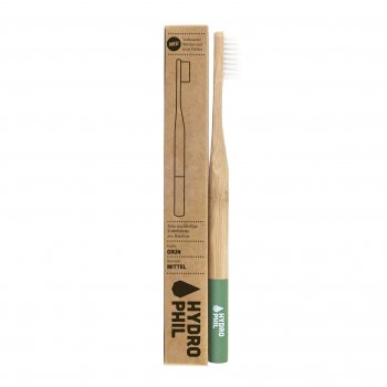 Bamboo Tooth Brush Medium GREEN Hydrophil Organic