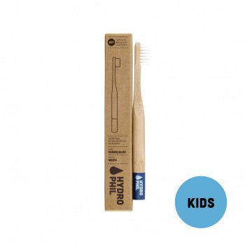 Bamboo Tooth Brush KIDS Extra Soft Blue Hydrophil Organic
