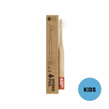 Bamboo Tooth Brush KIDS Extra Soft Red Hydrophil Organic