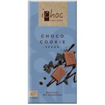 iChoc Choco Cookie - Rice Choc Schokolade Bio, 80g