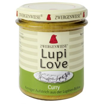 Brotaufstrich LupiLove Curry Bio, 165g