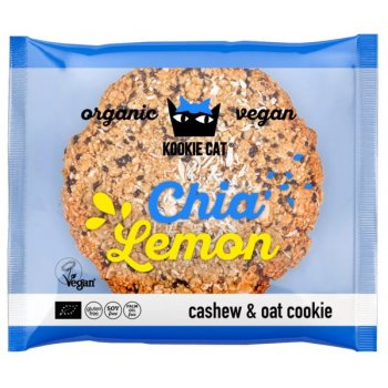 KOOKIE CAT Chia Lemon Cookie Glutenfrei Bio, 50g