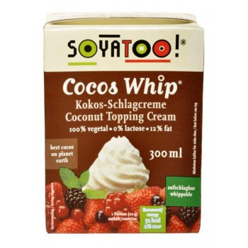 Coconut Whip Topping Cream, 300ml