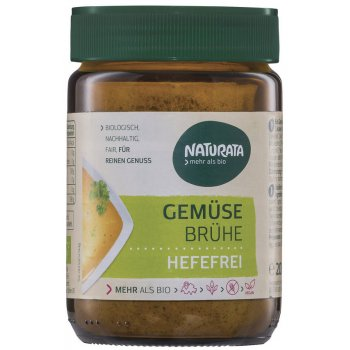 Vegetable Stock Jar Yeast Free Gluten Free Organic, 200g