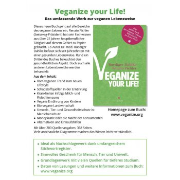 Flyer Veganize your Life!