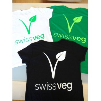 T-shirt Swissveg noir SMALL