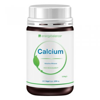 Calcium High Bioavailability 130mg, 180 VegeCaps