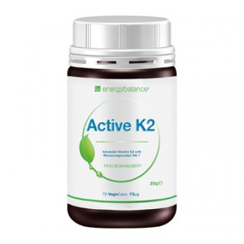 K2 active advanced MK-7 75µg Vitamin, 90 VegeCaps