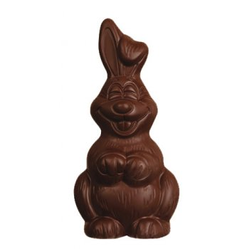 Easter Bunny Dark Chocolate Organic, 80g