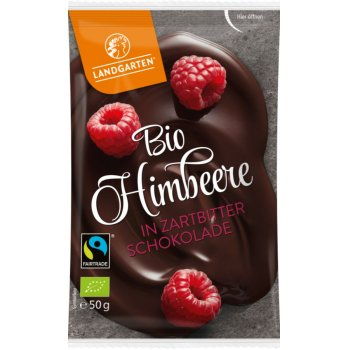Nibble Fruits Rasberry with Dark Chocolate Organic, 50g