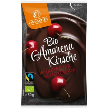 Nibble Fruits Amarena Cherry with Dark Chocolate Organic, 70g