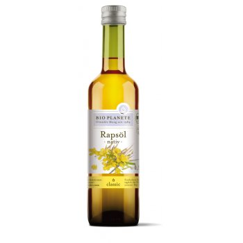 Oil Rapeseed Virgin Organic, 500ml