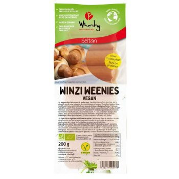 Sausages Vegan Mini Weenies 10 pcs Organic, 200g