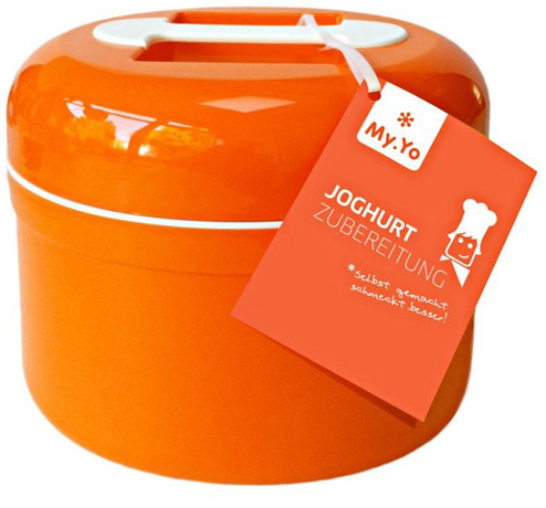 my yo yoghurt machine orange without electricity. Black Bedroom Furniture Sets. Home Design Ideas