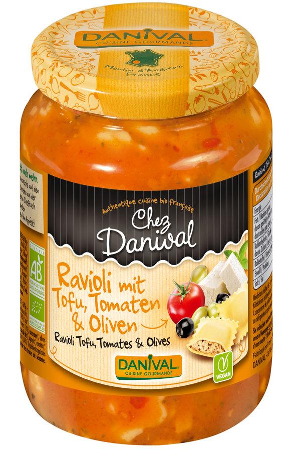 Ravioli tofu bio 670g for Cuisinier vegan