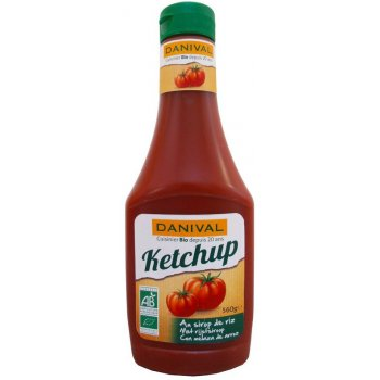 Ketchup with Rice Syrup Organic, 560g
