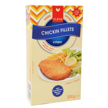 Chickin Filets Breaded Organic, 200g