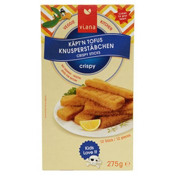 Vegan Crispy Sticks Captain Tofu Organic, 275g