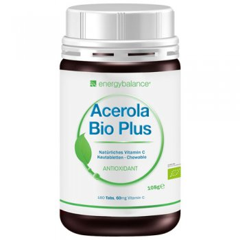ACEROLA Bio Plus Vitamin C, 60mg, 180 dragées