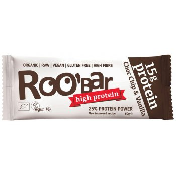 Raw Bar Protein Chocolate Chip Organic, 60g