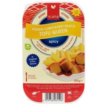 Currywurst Tofu Queen Organic, 250g