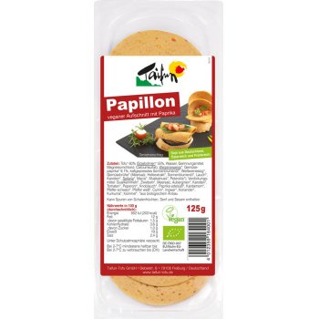 Vegan Slices Papillon Organic, 125g