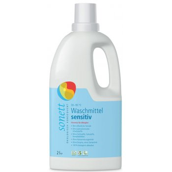 Laundry Liquid 30–95 °C SENSITIVE (without perfume) , 2 l