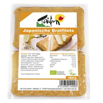 Tofu-Filets Japanese Style Organic, 160g