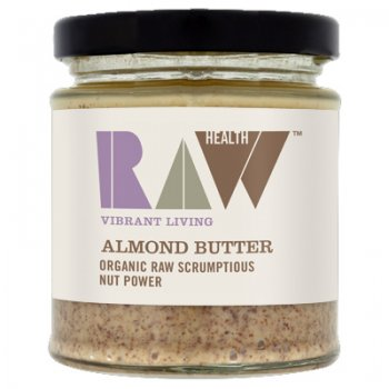 Almond Butter Raw Food Quality Organic, 170g