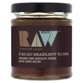 Cacao Brazilnut Spread Raw Food Quality Organic 170g