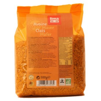 Oats Whole Grain Organic, 500g