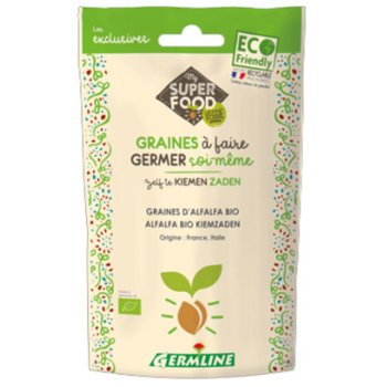 Sprouted Seeds Alfalfa Organic, 150g